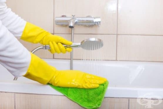 Почистете банята с домашен препарат от сода, боракс, кастилски сапун, морска сол и етерични масла - изображение