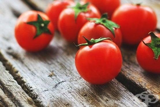 Изтеглете гной от рана с домат - изображение