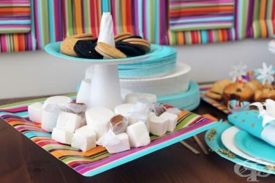3 полезни и забавни приложения на картонените чинии - изображение