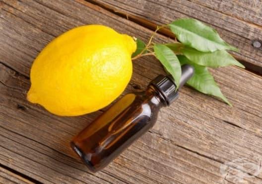 Елиминирайте зъбната плака с етерично масло от лимон - изображение
