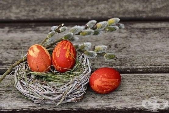 Боядисайте великденските яйца с натурални оцветители - изображение