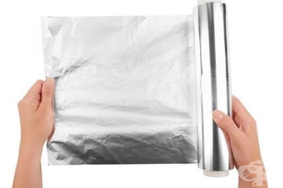 Открийте 7 неочаквани ползи на алуминиевото фолио - изображение