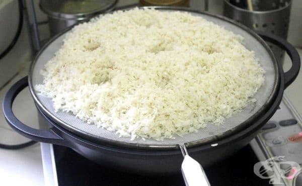 Пригответе си ориз на пара без необходимия уред - изображение