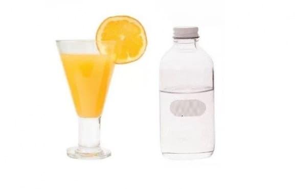 Заличете тъмните кръгове под очите с портокалов сок и глицерин - изображение