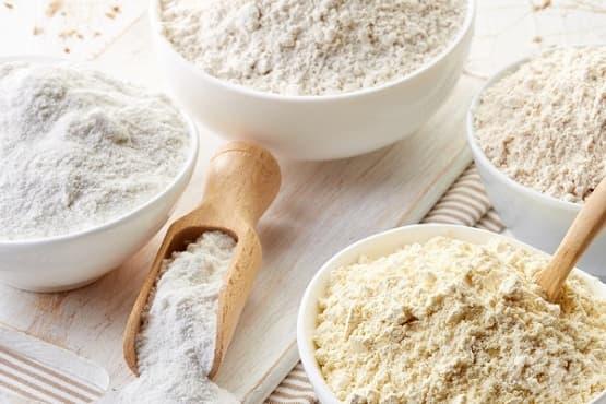 Как да използвате 5 вида безглутенови брашна - изображение