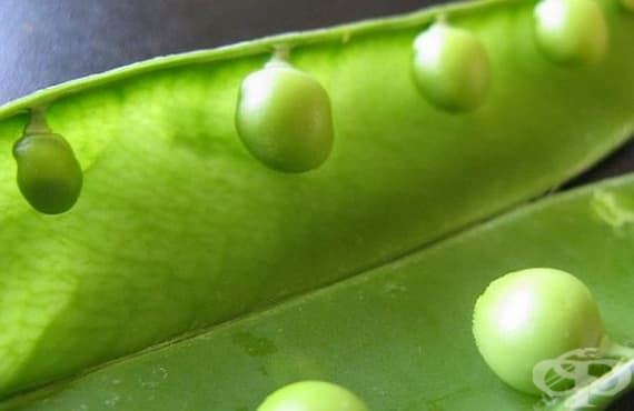 Подобрете храносмилането с грах - изображение