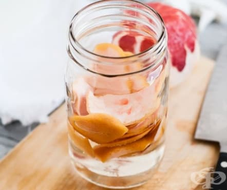 Направете си натурален почистващ препарат от грейпфрут и оцет - изображение