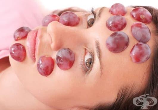 Облекчете слънчевите изгаряния с грозде - изображение