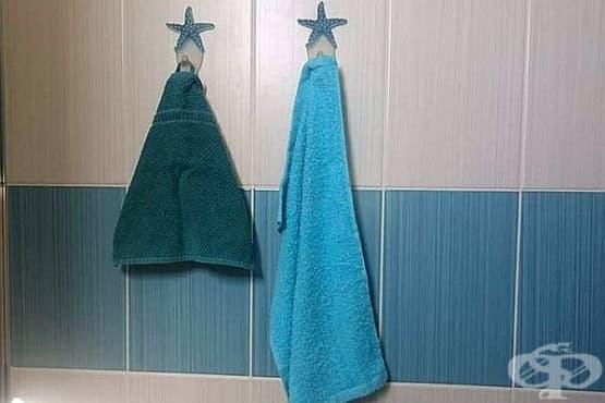Хавлиените кърпи не трябва да се съхраняват в банята за дълго - изображение
