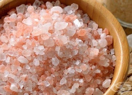Пречистете храносмилателния тракт с разтвор от хималайска сол - изображение