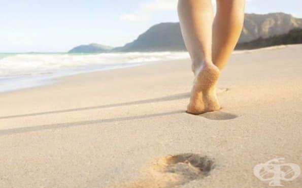 Ходете боси, за да се предпазите от разширени вени и укрепите мускулите на краката си - изображение