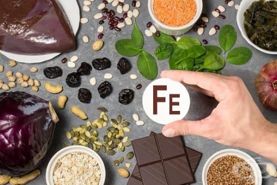 Консумирайте 5 храни при анемия и дефицит на желязо - изображение