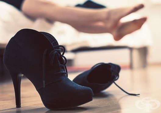 Измерете подходящата височина на токчетата, за да избегнете болка в краката - изображение