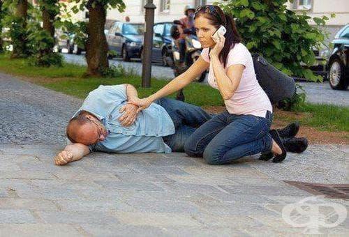 Използвайте игла, за да дадете спешна помощ на човек с инсулт - изображение