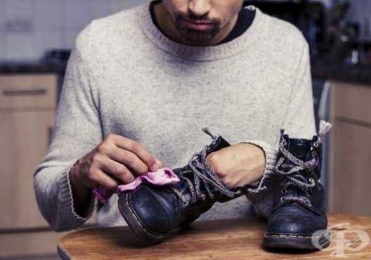 Използвайте 10 лесни и ефективни начина за поддържане на обувките - изображение