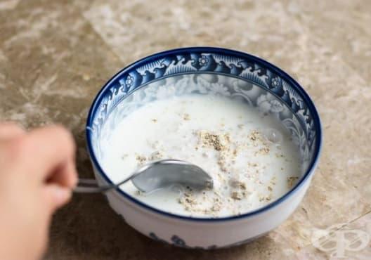 Използвайте ексфолиант от кисело мляко и овесени ядки за меки и гладки стъпала - изображение