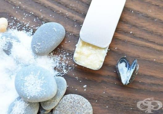 Използвайте ексфолиант от мед и сол срещу запушени пори - изображение