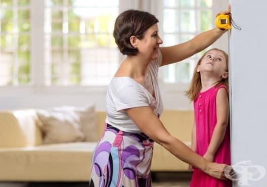Използвайте лесен начин, за да определите ръста на вашето дете - изображение