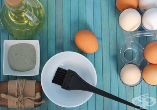 Използвайте маска от яйце, лимон и зехтин срещу суха коса - изображение