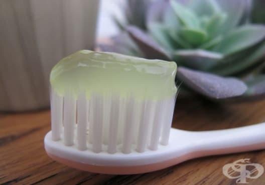 Използвайте паста от мед, алое и кислородна вода против гингивит - изображение
