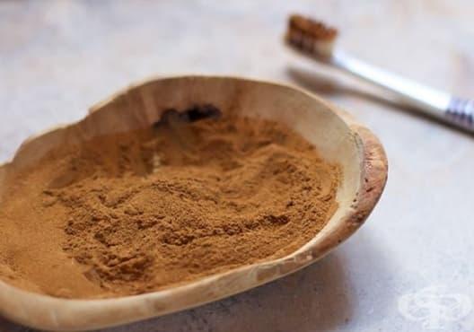 Използвайте прах от смирна, канела и женско биле за бели и здрави зъби - изображение