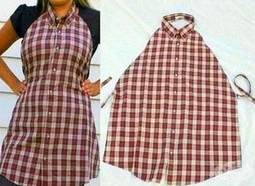 Рециклирайте старата риза в нещо полезно - изображение