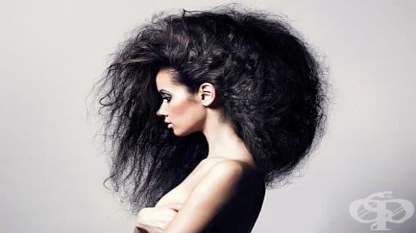 Придайте блясък на къдравата коса с лайка и оцет - изображение