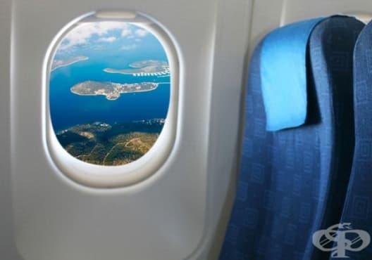 Как да изберете най-доброто място в самолета - изображение