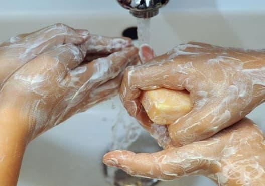 Как да миете ръцете си правилно - изображение