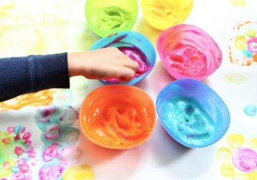 Как да направим екологични боички за рисуване на децата? - изображение