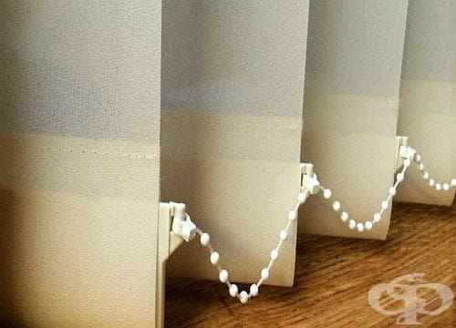 Как да почистим щорите от плат? - изображение