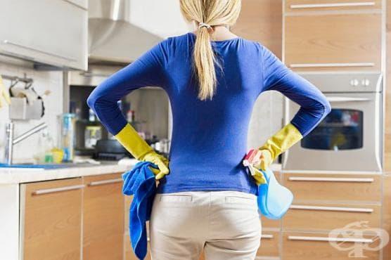 Как да премахнем замърсяванията от мазнина по кухненските шкафове? - изображение