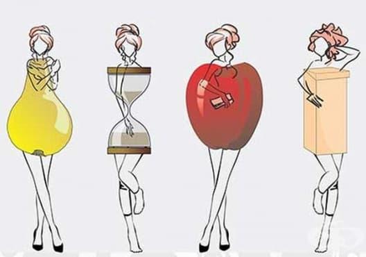 Как да се храним правилно според формата на тялото? - изображение