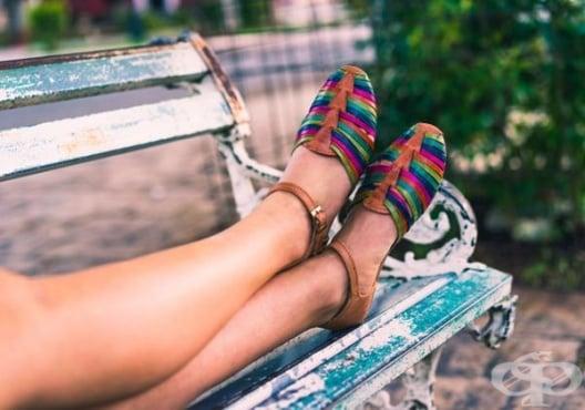 Как да се справите с уморените крака - изображение