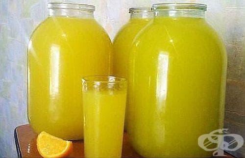 Как да си направим 9 литра домашен сок от 4 портокала? - изображение
