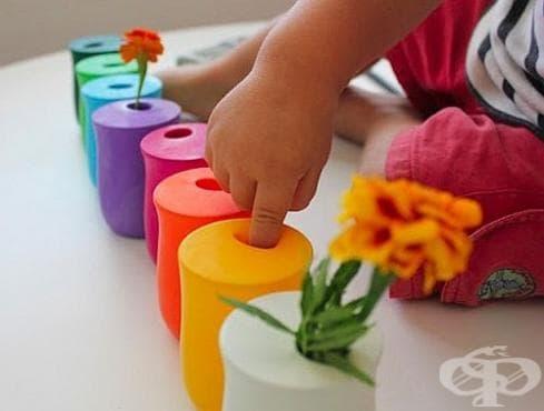 Как да си направим оригинални цветни вази? - изображение