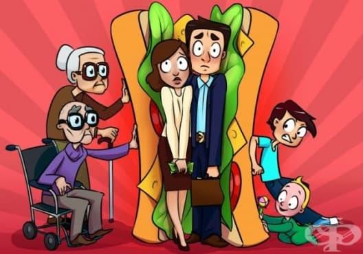 """Какво е """"сандвич поколение"""" и как да се справите с напрежението, ако принадлежите към него - изображение"""