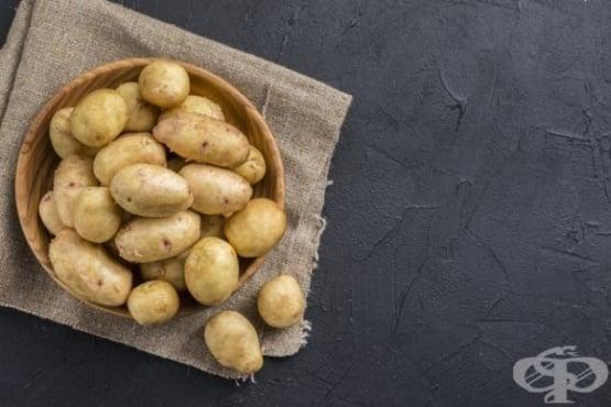 Намалете високата температура със суров картоф - изображение