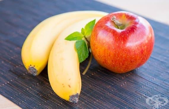 Облекчете киселините с ябълка или банан - изображение