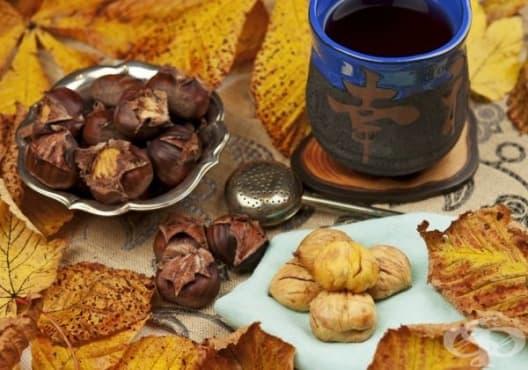 Консумирайте чай от кестени срещу диария - изображение