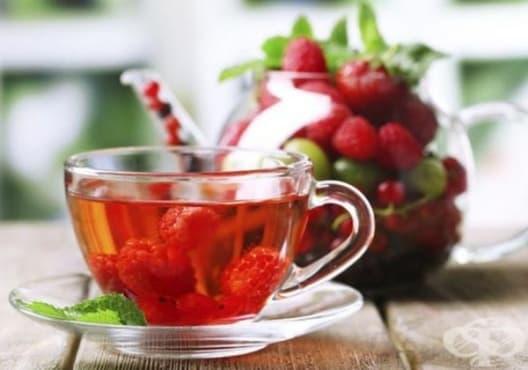 Консумирайте чай от малини и къпини срещу диария - изображение
