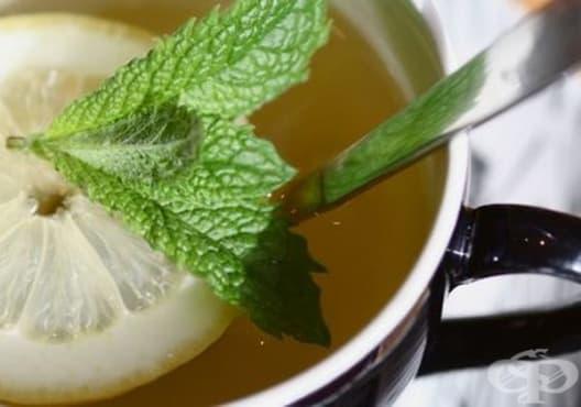 Консумирайте чай от мента против махмурлук - изображение