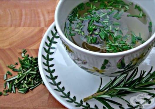 Консумирайте чай от розмарин срещу атеросклероза - изображение
