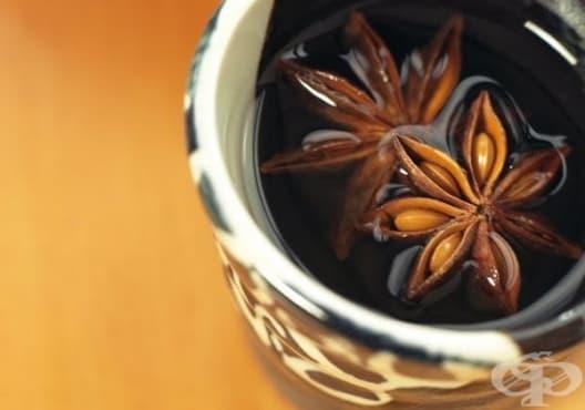 Консумирайте чай от звездовиден анасон срещу подуване и газове - изображение