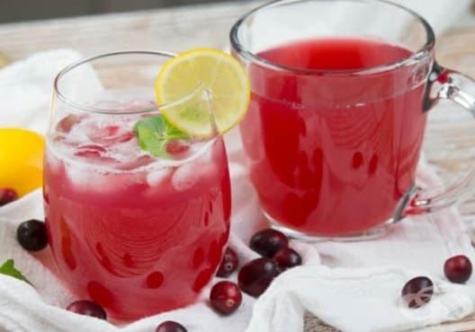 Консумирайте сок от червена боровинка срещу глаукома - изображение