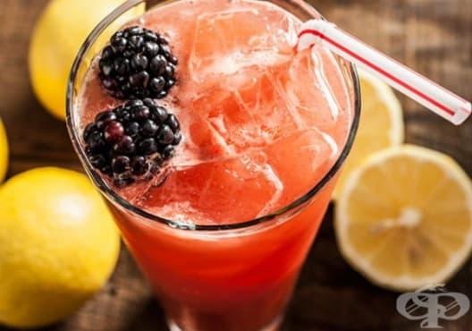 Консумирайте напитка от грейпфрут и къпини срещу разширени вени - изображение