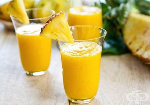 Консумирайте напитка от кисело мляко, ананас и ленено семе през менопаузата - изображение