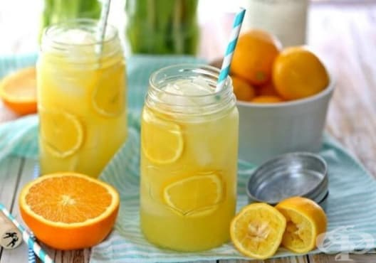 Консумирайте напитка от лимон и портокал срещу анемия - изображение