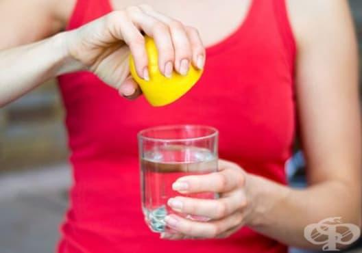 Консумирайте напитка от лимон и сол против диария - изображение