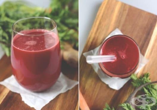 Консумирайте напитка от морков, цвекло и коприва срещу анемия - изображение